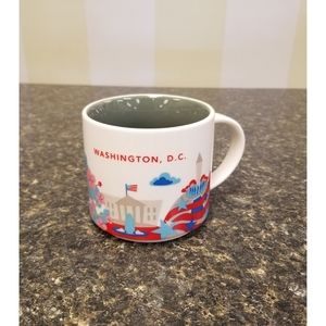 Starbucks Washington, D.C You Are Here Mug